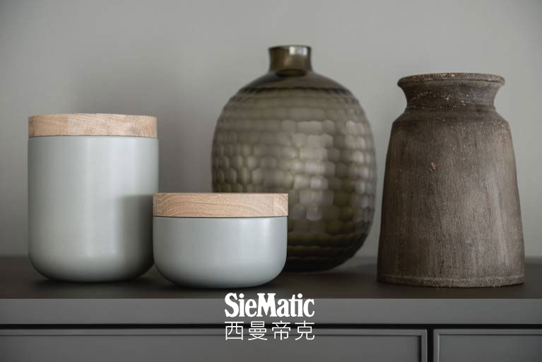 Exclusive SieMatic countertops and backsplashes for the kitchen