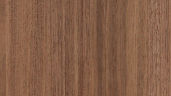 Veneer in natural walnut from SieMatic's selection of natural wood kitchen cabinet door fronts